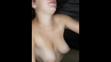White whore loves blk cock