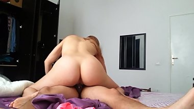 Stepsister With Thight Pussy Riding Me - Creamy Pussy