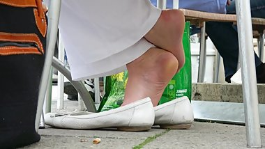 Amazing Mature Dipping With White Flats 2