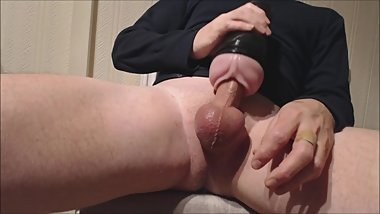 My solo 138 (Pink lady deep fucking and messy spurting load)