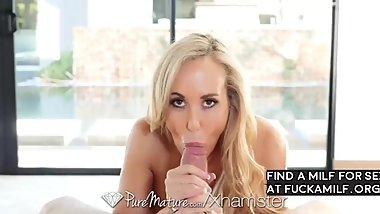 Busty Brandi Love rides hard dick