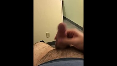 Jerking while waiting for my boyfriend
