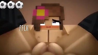 She is so CUTE!! High Quality Minecraft Porn