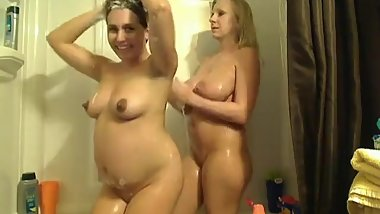 pregnant rena have fun with brigney brooks (mother of love)