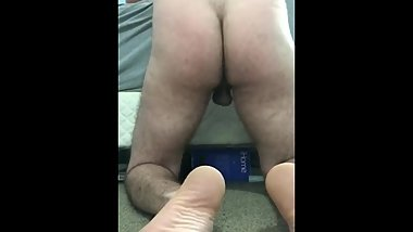 Watch my ass as I fuck this pussy and cum