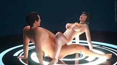 3D Hentai Girl Having Virtual Hardcore Sex