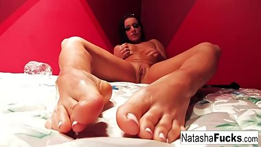 Dirty French talk with Natasha Nice