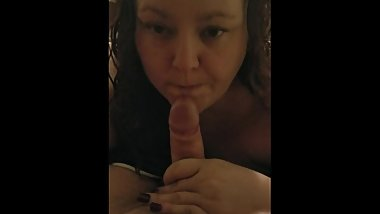 Blow job from wife