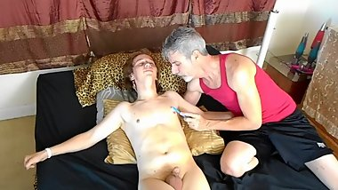 Tickling Bound 18 year old Boyfriend - Elis Ataxxx - Richard Lennox