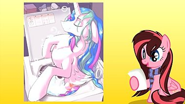 [NO PORN] Reading ~ Princess Celestia Is In Your Washing Machine