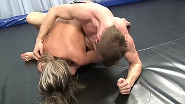 emanuela vs martin mixed wrestling