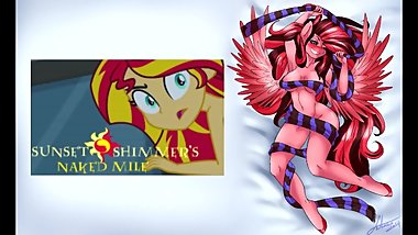 [Clop] Reading ~ Sunset Shimmer's Naked Mile