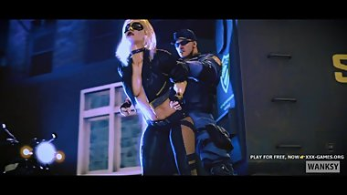 Black canary 3D FUCK