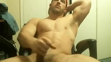 college guy jerk off and cum
