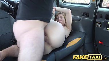 Fake Taxi Busty brunette gets her arse stretched in anal fuck