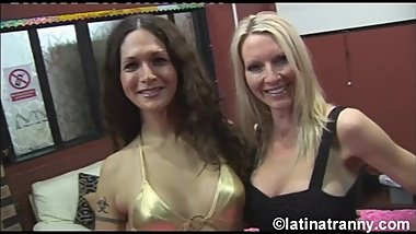 Nikki Montero and MILF Pornstar Emma Starr Cum on Pussy