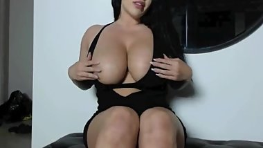 Brunette british milf pov