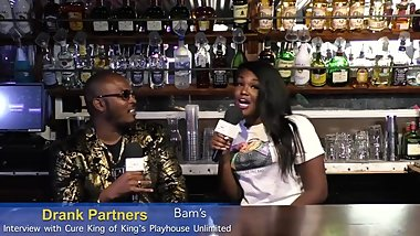 Bam of Drank Partners Interviews Pornstar King Cure In Austin TX