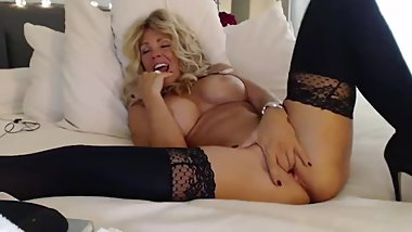Mommy with DD Tits sucking big cock and pussy Orgasm all night long