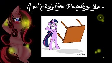 [NO PORN] Reading ~ Princess Twilight Sparkle Flips A Table.. And Then Some