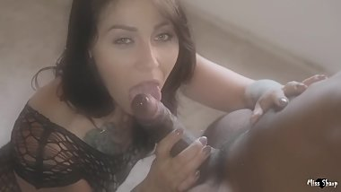 Sloppy blowjob Deepthroat & facial