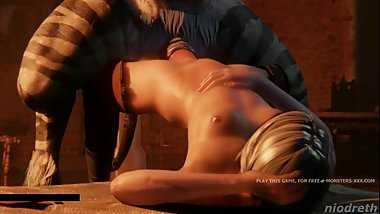 Ciri looking for anal adventures, 3d rough sex