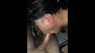 Cock hungry Crossdresser devours big dick