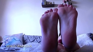 Foot Fetish Compilation 2 by Venus Venerous