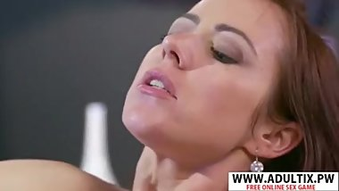 Slim Mother-In-Law Bibi Fox Bangs Hot Her Stepson