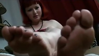 German Red Haired Bbw Soles