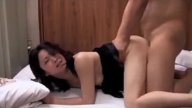 Japan sex wife with husband friend hard sex in home