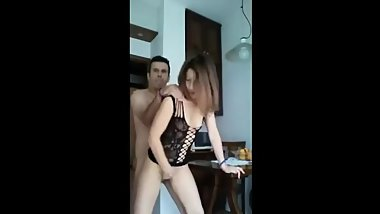 Real french amateur sister deep fuck homealone