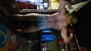Pinoy Muscles Gerald Alexander Pangan and Andrew Wolf Tui Posing Routine