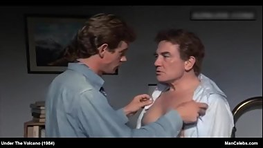 Male Celebrity Albert Finney Nude & Sexy Movie Scenes