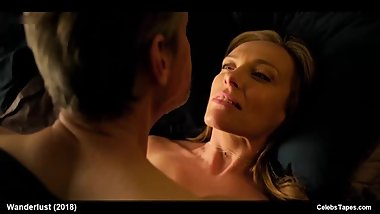 Celebrity Actress Toni Collette Teases In Sexy Lingerie