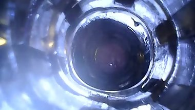 Cumming inside my fleshlight (internal view)