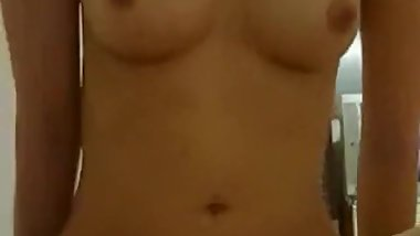 Homemade asian cowgirl POV