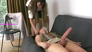 Two Futunaria Girls Teach Each Other To Fuck! Part 1