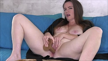 Taboo Mother and Step son The Next Morning (Solo with dildo)