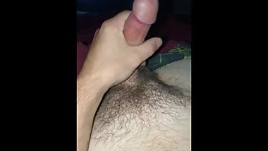 jerking off for me